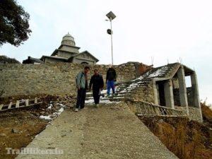 bhadraj temple trek