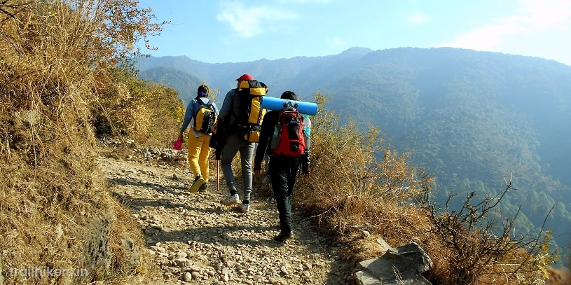 nag tibba trek blog