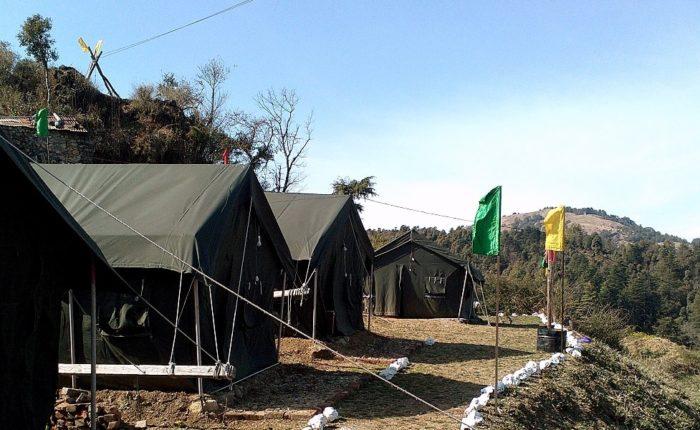 camping near Delhi