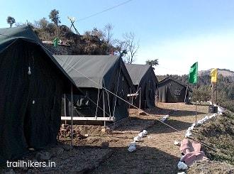 camping in Mussoorie