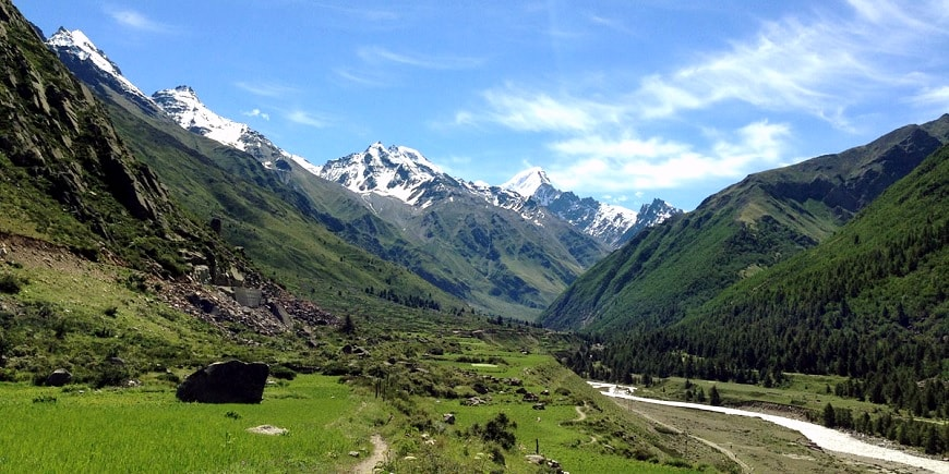 sangla valley trek